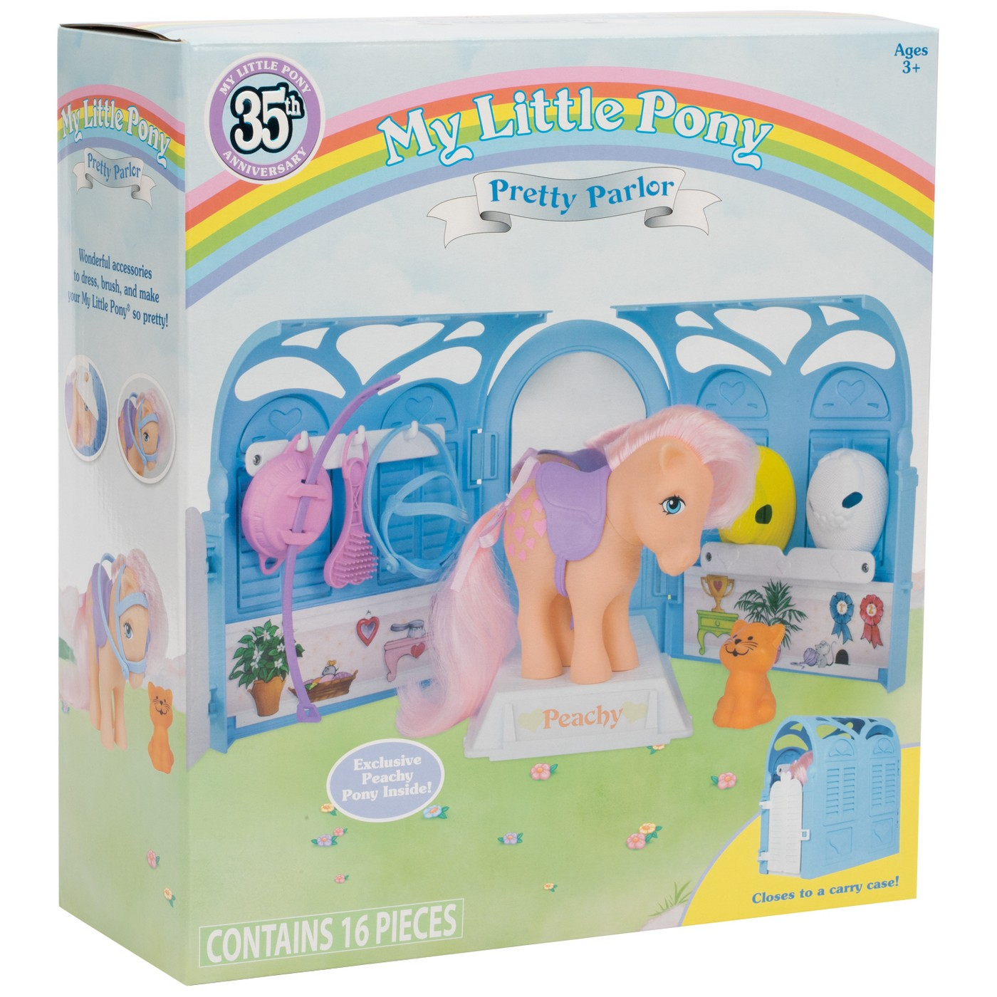 - My Little Pony Retro 35th Anniversary Pretty Parlor Playset